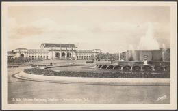 Union Railway Station, Washington DC, C.1950 - Sawyers RPPC - Washington DC