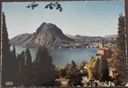 Chiesa Di Castagnola - Con S. Salvatore - N. 792 - Viaggiata Anni '70 - (2397) - TI Tessin