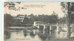 33160 - RANCON - LE MOULIN D ARDENT ET LA PASSERELLE - Frankrijk