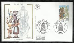 LAMBESC . LE JACQUEMARD . 09 OCTOBRE 1993 . LAMBESC . - FDC
