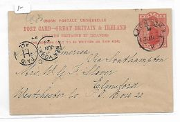 EDB445  - GRAN BRETAGNA , Intero Postale Del 15 Ju 1894 - Interi Postali
