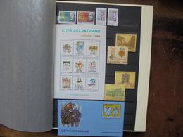 VATICAN ANNEES 80-90s. DONT BLOCS+CARTES MAXI-AEROGRAMME. (2023) 2 KILOS - Collections