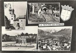 CPSM La Roche-sur-Foron Vues Multiples Armoiries - La Roche-sur-Foron