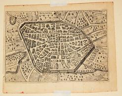 """CARTA GEOGRAFICA  """"BOLOGNA""""  SCOTO FRANCESCO  1737 - Carte Geographique"""