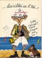 WEST Iza  Ed Sira N°2  - HUMOUR  Les Branchés En Vacances Plage  Var  Tapie -  CPM  10,5x15  TBE Neuve - Illustrators & Photographers
