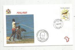 Premier Jour , FDC, Malawi, Visit Of Pope John Paul II , Malawi , BLANTYRE ,  5-5-1989 - Malawi (1964-...)