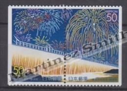 Japan - Japon 2001 Yvert 3099a-99Aa, Fireworks, Niigata Prefecture - From Booklet - MNH - 1989-... Emperor Akihito (Heisei Era)