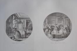 GRAVURES 800-801 / THE DAY'S FOLLY Par A.F. SERGENT - LE MAGNETISME D'après SERGENT Par LAURENT GUYOT Né à PARIS - Stiche & Gravuren
