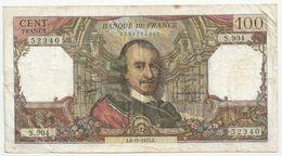 France 100 Francs 6-11-1975 Corneille - 1962-1997 ''Francs''