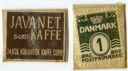 N93-0481 - Timbre-monnaie - Danemark - Javanet Som Kaffe - 1 Ore - Kapselgeld - Encased Stamp - Monetary /of Necessity