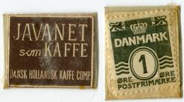 N93-0481 - Timbre-monnaie - Danemark - Javanet Som Kaffe - 1 Ore - Kapselgeld - Encased Stamp - Monétaires / De Nécessité