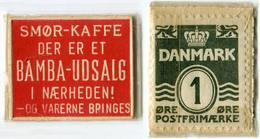 N93-0482 - Timbre-monnaie - Danemark - Bamba-Udsalg - 1 Ore - Kapselgeld - Encased Stamp - Monétaires / De Nécessité