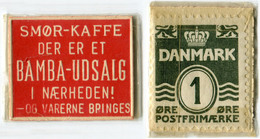 N93-0482 - Timbre-monnaie - Danemark - Bamba-Udsalg - 1 Ore - Kapselgeld - Encased Stamp - Monetary /of Necessity