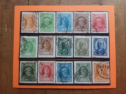 RUSSIA - Effigi Nn. 392/405 Timbrati + Spese Postali - Usati