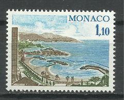MONACO , 1.10 Fr , Les Nouvelles Plages De Monte-Carlo , 1977 , N° YT 1083 , NEUF ** - Monaco