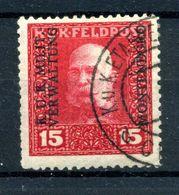 1917 AUSTRIA OCC. MONTENEGRO N.2 USATO - Oriente Austriaco