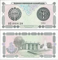 Uzbekistan 1994 - 1 Sum - Pick 73 UNC - Uzbekistan