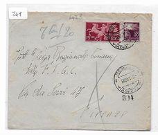 EDB478  - REPUBBLICA , Lettera Espresso Del 6/1/1948 - 6. 1946-.. Repubblica