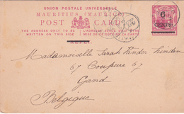 Entier Postal MAURICE / Mauritius -  1909 - Maurice (1968-...)