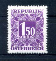 1949 AUSTRIA SEGNATASSE N.245AB (CARTA E GOMMA BIANCA) ** - Taxe