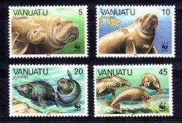 Vanuatu - 1988 - Endangered Species/Dugong - MNH - Vanuatu (1980-...)