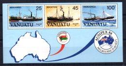 "Vanuatu - 1984 - ""Ausipex"" International Stamp Exhibition Miniature Sheet - MNH - Vanuatu (1980-...)"