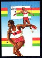 Ghana - 1988 - Olympic Games Miniature Sheet - MNH - Ghana (1957-...)