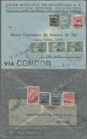 Beleg 1931, 3 Verschiedene LP-Briefe Innerhalb Brasiliens Befoerdert (Michel: 319-20 U.a.) - Stamps