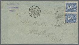 Beleg 1899, 8. Juni, Buenos Ayres A Bordeaux 20/LK No 4 (franz. 8eck-Schiffspost-Stpl.) Auf Bf. Aus Concescion (Ra4), 5  - Stamps