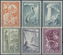 ** 1951, Marshall-Plan Komplett Postfrisch, Mi. 220.- (Michel: 582-87) - Stamps