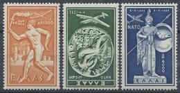 ** 1954, Nato Kompl. Postfrisch, Mi. 130.- (Michel: 615-17) - Stamps