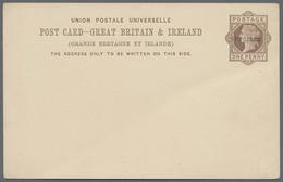 """Beleg 1883, Viktoria 1 P Braun, Ganzsachenkarte Mit Aufdruck """"Specimen"""", Ungebraucht, In GB Sind Specimen Aufdrucke Selt - Stamps"""