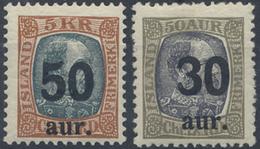 ** 1925, Freimarken Mit Aufdruck Kompl. Postfrisch,Mi. 235.- (Michel: 112-13) - Stamps