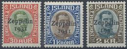 ** 1931, Zeppelin Kompl. Postfrisch,Mi. 200.- (Michel: 147-49) - Stamps