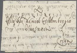 Beleg 1759, Tremezzo, Fuhrmannsbf. M. Weinversandbenachrichtigung N. Coira (Chur), Schweiz. - Stamps