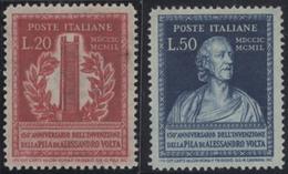 ** 1949, 20 U.50 L. Volta Postfrisch, Mi. 130.- (Michel: 784-85) - Stamps