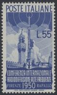** 1950, 55 L. Internat. Radiokonferenz Postfrisch, Mi. 300.- (Michel: 797) - Stamps