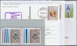**/gest./Beleg 2000, 0,20 - 2 DM Frieden Im Kosovo Kompl. A. FDC , Kompl. Postfrisch U. Gestempelt Und Auf 4 KFOR-Belege - Stamps