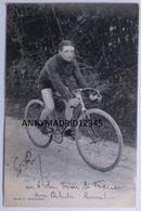 CP -  CYCLISME- CICLISMO-TOUR DE FRANCE - EDGARD ROY (Signé) - Cycling