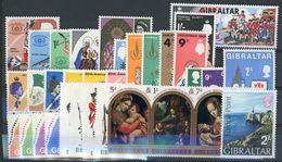 GIBRALTAR N° 198 à 231 ** Ensemble De 34 Valeurs NEUVES SANS CHARNIERE (MNH) TB - Gibraltar