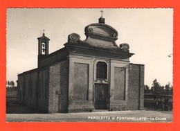 Parma Fontanellato Frazione Paroletta  Chiesa Cpa 1960 - Parma