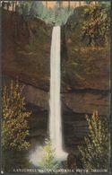 Latourell Falls, Columbia River, Oregon, C.1910 - Scheiner Postcard - United States