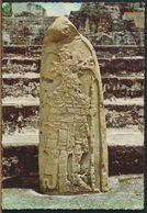 °°° 10864 - GUATEMALA - DIOS DEL MAIZ , TIKAL PETEN - 1978 With Stamps °°° - Guatemala