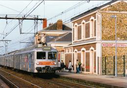 NOGENT LE ROTROU - Gare, Train - Nogent Le Rotrou