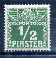 1908 LEVATE TASSE N.7 * - Oriente Austriaco