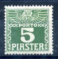 1908 LEVATE TASSE N.11 * - Oriente Austriaco
