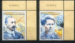 Serbia 2017 Famous People, Personalities, Science, Marie Curie, Nobel Prize Winners - Serbien