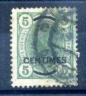 1906 CRETA N.12 USATO - Oriente Austriaco
