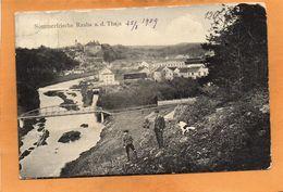 Raabs An Der Thaya 1909 Postcard - Raabs An Der Thaya