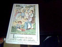 Cp Ancienne Non Ecrite Commission Americaine De Prevention Contre La Tuberculose En France - France